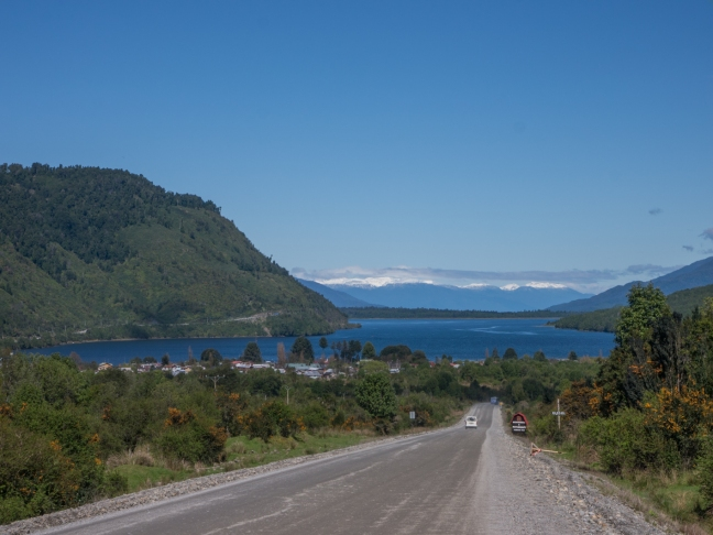 Coming into Puyuhuapi