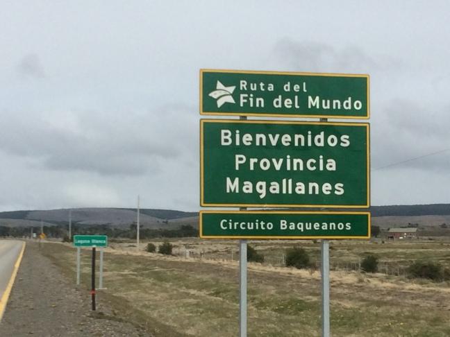 I've gone from Region X, to Region XI to Region XII in Chile. Region XII is Región de Magallanes y de la Antártica Chilena. This is a province in it.