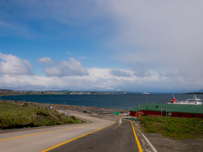 Puerto Natales. At 20,000 people, it is the biggest town I've been in since Coyhaique at the beginning of October.