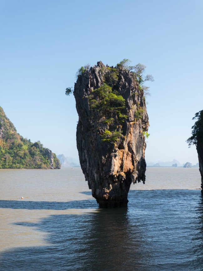 The famous James Bond island.