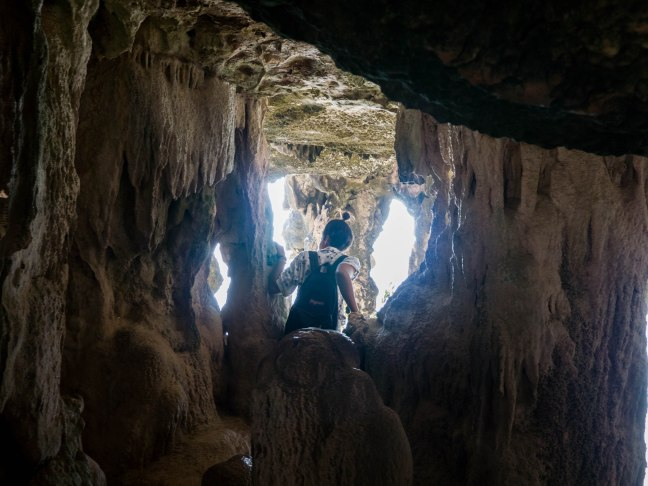 """The second photo in the collection """"Sophie Explores Caves"""""""
