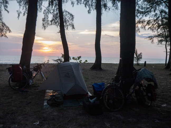 There will be lots of sunsets as we make our way up the Andaman Sea coast.