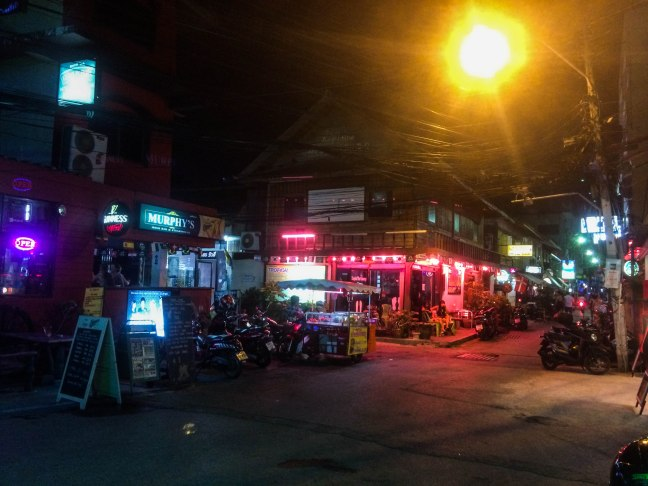 We stayed a night at a nice pub in Hua Hin owned by a cool Irish couple. Hua Hin was much bigger and busier than we expected.