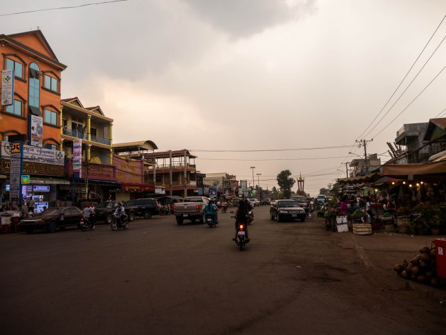 Banlung. A nice town on the frontier.
