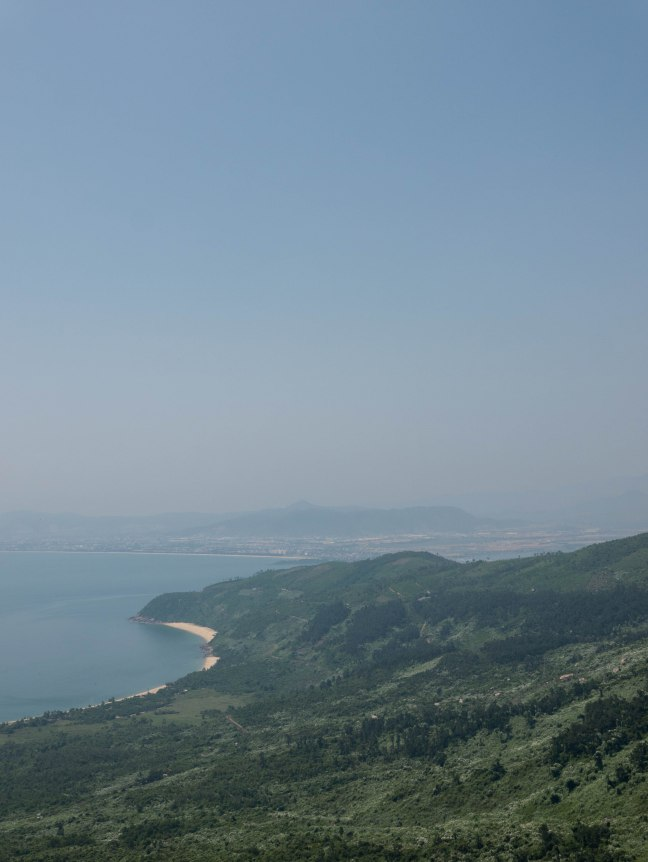 Da Nang from Hai Van
