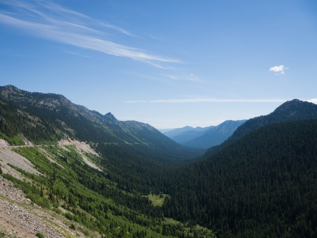 Chinook Pass, only open in summer.