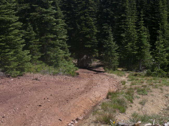 It's hard to show how steep this was.