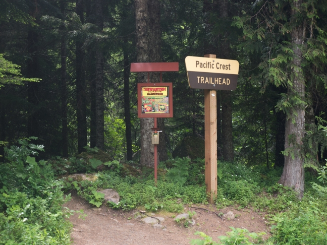 I cross the the PCT a few times.