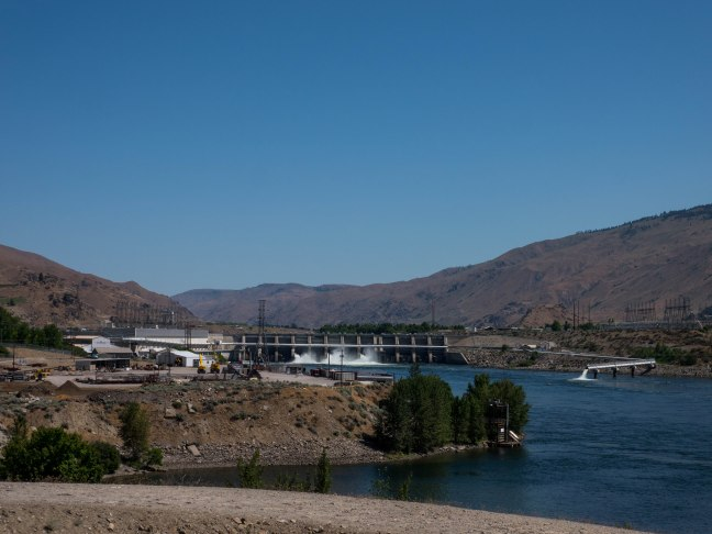 Dam on the Columbia River.